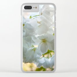 Beauty is transcendent Clear iPhone Case