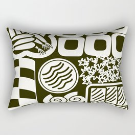 Jubako No2 Monochrome Rectangular Pillow