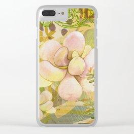 Grenada Garden Clear iPhone Case
