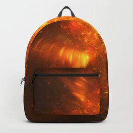 Fire in the sky Backpack