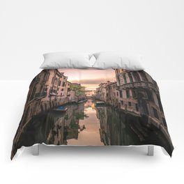 Canal of Venice Comforters