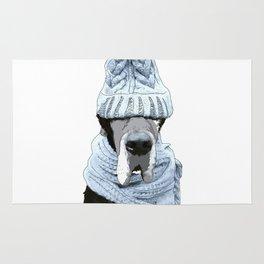 Great Dane Winter is Here Rug