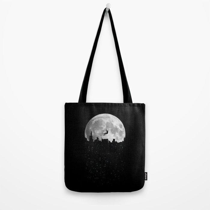 The Moon Climber Tote Bag