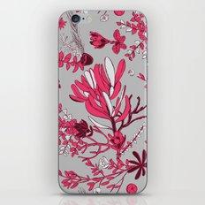 Fuchsia Cradle Flora iPhone & iPod Skin
