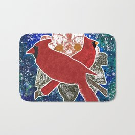 Cardinal, Bird Watching Bath Mat