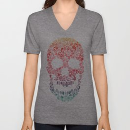 Death By Paisley Unisex V-Neck