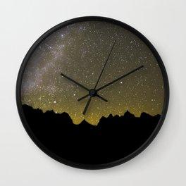 Snowmass Wilderness Mily Way Wall Clock