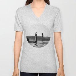 Surfing Days Unisex V-Neck