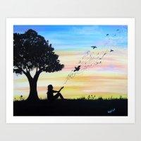 Sweet Release Art Print