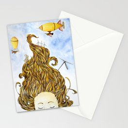 Steam-Punk Dreams Stationery Cards