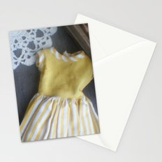 Yellow Dress TTV Stationery Cards