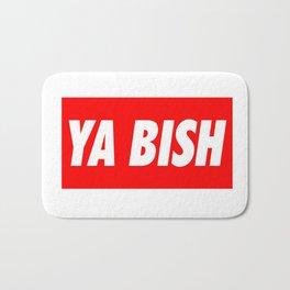 Ya Bish Typography Bath Mat