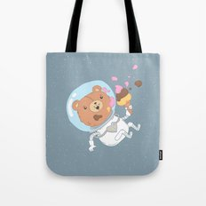 Space Bear Tote Bag