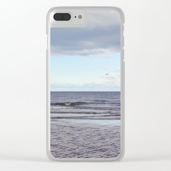 Oceano Pacifico Clear iPhone Case
