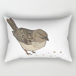 One Little Sparrow Rectangular Pillow