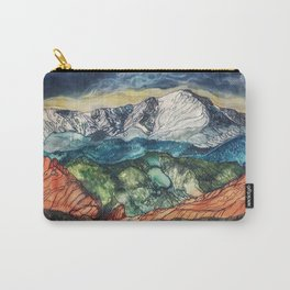 Pikes Peak Print Carry-All Pouch
