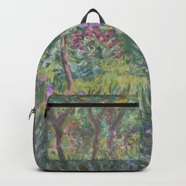 Monet's garden at Giverny Backpack