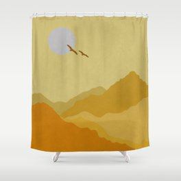 Shades Of Desert Shower Curtain