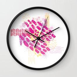 Summer Color Wall Clock