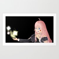 vocaloid Art Prints featuring IA Vocaloid by Brittany's Drawings and Doodles