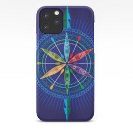 Kayak Compass Rose iPhone Case