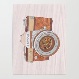 WOOD CAN0N Poster