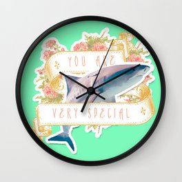 Shark Says You Are Very Special Wall Clock