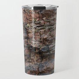 Royal Gorge Rock Formation Texture Travel Mug