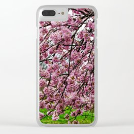 Happiness - Spring Blossoms Clear iPhone Case