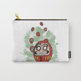 Daruma Doll Cartoon Carry-All Pouch