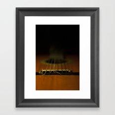 guitar ii Framed Art Print