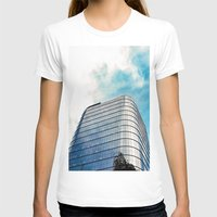 building T-shirts featuring Big Building by Mauricio Santana