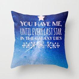 Illuminae Throw Pillow