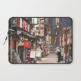 Lights in the Snow Laptop Sleeve
