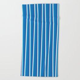 Between the Trees Blue, Cerulean & Navy #401 Beach Towel