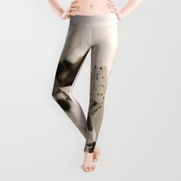 Blossoms Monochrome Leggings