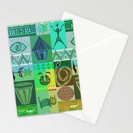 Diseño étnico Stationery Cards