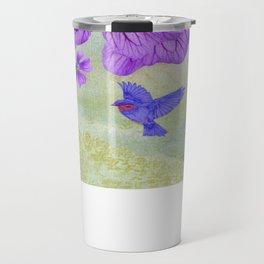Purple Cranesbill Travel Mug
