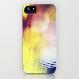 City lights - Abstract Photography iPhone Case