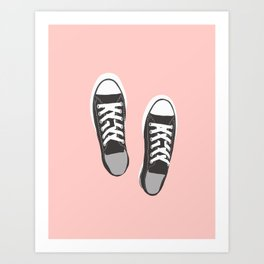 my fave shoes Art Print