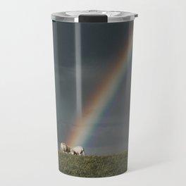 Rainbow II  - Landscape and Nature Photography Travel Mug