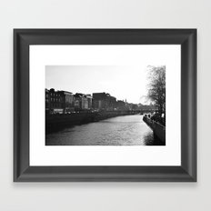 Dublin Framed Art Print