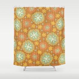 Kantha floral 2 Shower Curtain