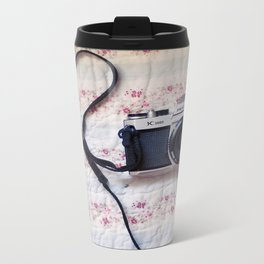 Camera  Love Metal Travel Mug