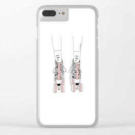 Don't grow up Clear iPhone Case