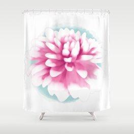 Big Dahlia Shower Curtain