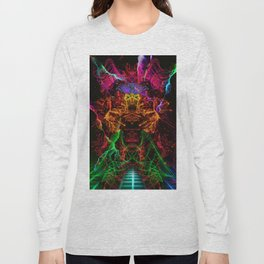 Jerry, The Cyber Fighter Long Sleeve T-shirt