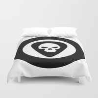 punk rock Duvet Covers featuring Punk, Rock & Ska by Howiesgraphics