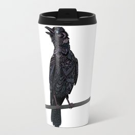 Verklempt Crow Travel Mug