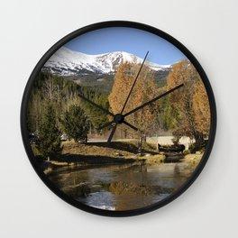 Cucumber Creek Wall Clock
